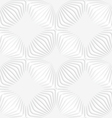 Paper white perforated stripes forming squares vector image vector image
