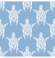 Sea Turtles Seamless pattern vector image