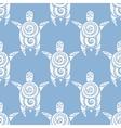 Sea Turtles Seamless pattern vector image vector image