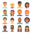 People nationality race vector image