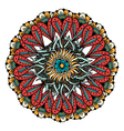 Colored mandala vector image