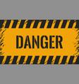 dander wall yellow background vector image vector image