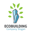 Eco Building Design vector image vector image