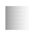 geometric halftone gradient dots background vector image