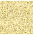 Gold glitter texture isolated on golden background vector image