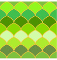 Green scales abstract seamless background vector image vector image