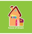 house of dream vector image vector image