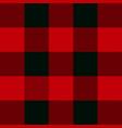 lumberjack plaid texture pattern background vector image vector image