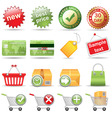 online store vector image vector image