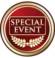 special event icon vector image vector image