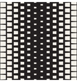 Seamless Black And White Rectangle Halftone vector image