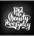 chalkboard blackboard lettering find the vector image vector image