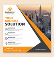 corporate business web marketing banner vector image vector image
