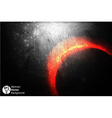 Eclipse background vector image vector image