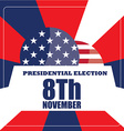 Election day vector image vector image