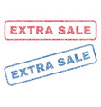 extra sale textile stamps vector image