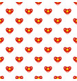 girl nipple pattern seamless vector image