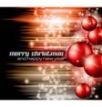 Neon merry christmas vector image vector image