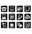 Telephone Icons vector image vector image