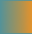 two tone green and orange gradient halftone vector image