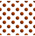 choco lunch biscuit pattern seamless vector image