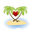 island love vector image vector image