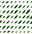 leaves pattern - pattern with leaf shapes vector image vector image