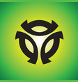 sphere logo design vector image vector image