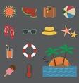 Summer icon vector image vector image