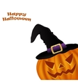Wicked pumpkin for Halloween vector image vector image