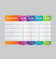 creative of business plans web vector image