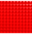 Abstract red poligonal background vector image