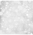 Abstract Christmas snow background vector image