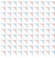 abstract geometric pattern squares with smooth vector image vector image