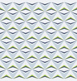 abstract seamless pattern triangle elements vector image vector image