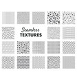 hand drawn pattern abstract seamless texture vector image