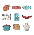 line food design vector image
