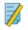 paper document with rule vector image