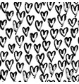 seamless heart abstract pattern vector image