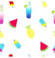 seamless tileable summer texture vector image