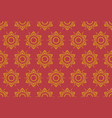 thai pattern floral seamless vintage style vector image vector image