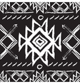 Tribal ethnic seamless patternnational vector image vector image