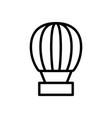 balloon travel icon vector image