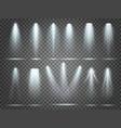 beam floodlight illuminators lights stage vector image