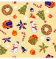 Christmas Seamless Background vector image vector image