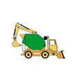 Construction Machine 380x400 vector image vector image