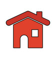 house shape icon vector image