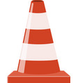traffic cones design isolated on vector image
