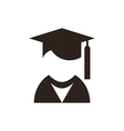 University avatar Education icon vector image vector image