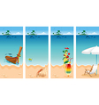 Vacation set vector | Price: 3 Credits (USD $3)